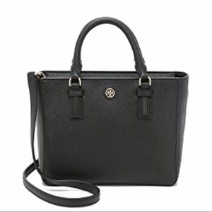 Tory Burch Robinson Mini Square Purse Tote!